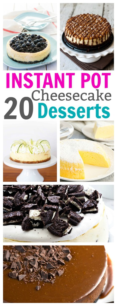 Delicious Cheesecake Instant Pot Desserts