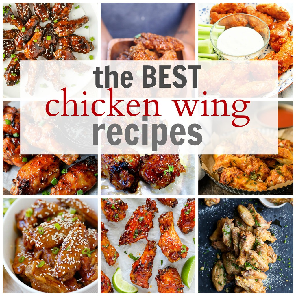 The Best Chicken Wing Recipes