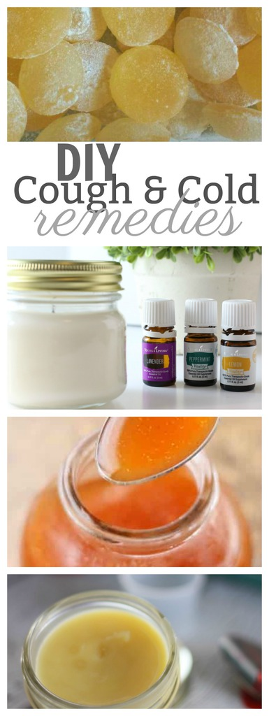 DIY Cough and Cold Remedies that you can make at home!!