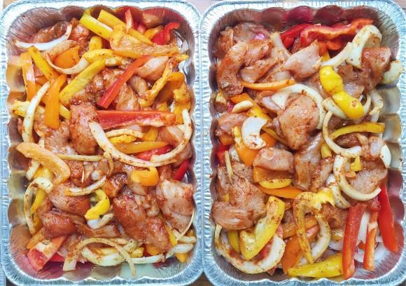 Freezer Meal: Oven Baked Chicken Fajitas