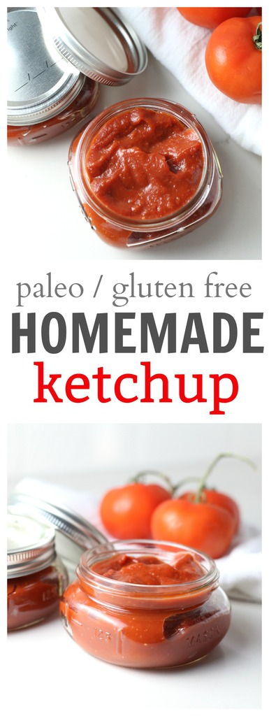 Easy Paleo Recipes: Homemade Ketchup
