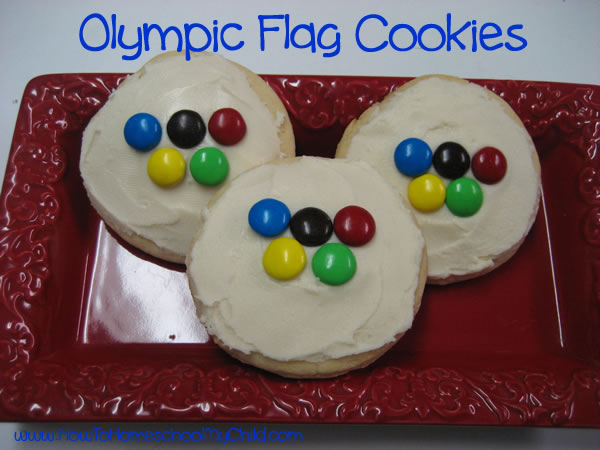 Olympic Themed Party Games and Food