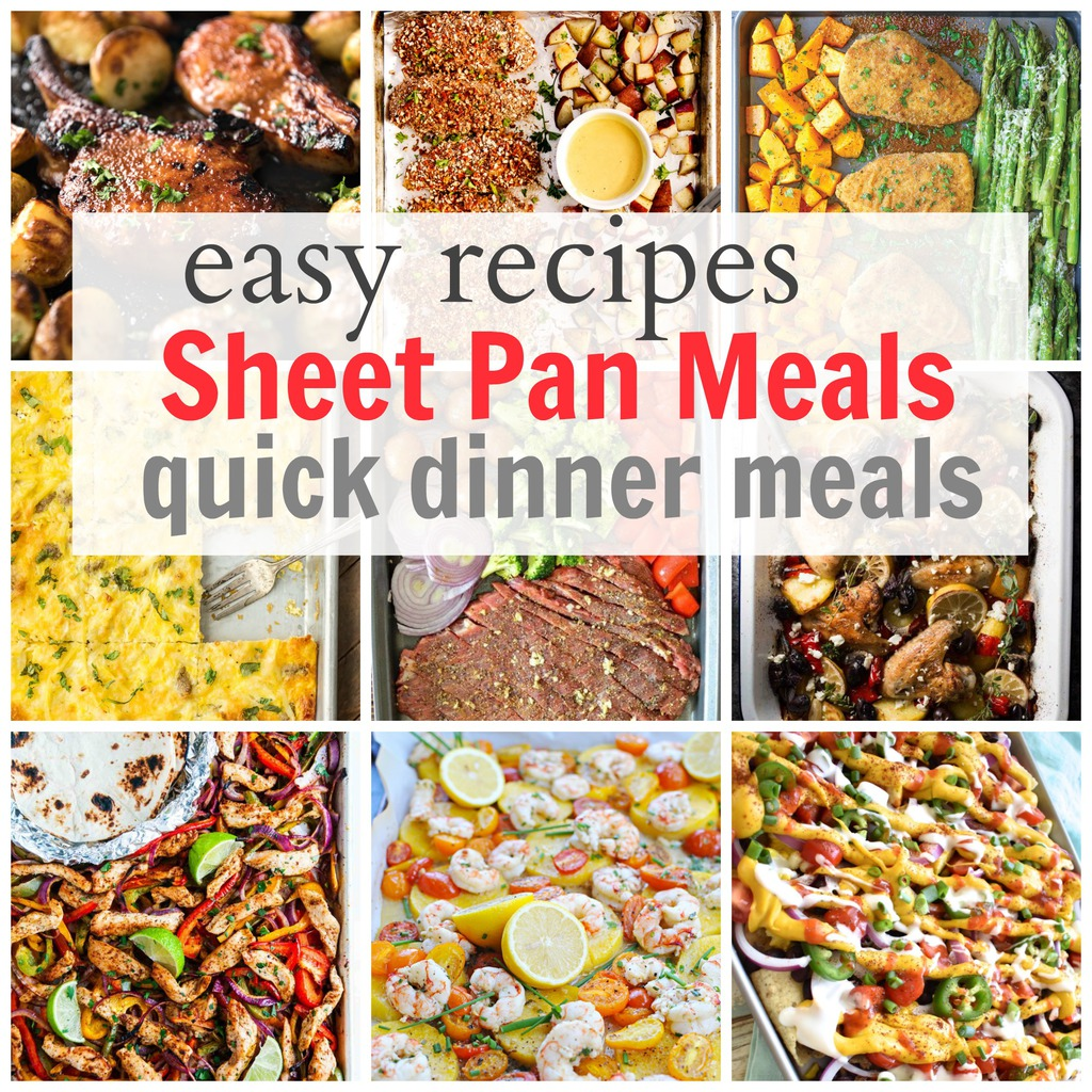 Easy Sheet Pan Recipes for Supper