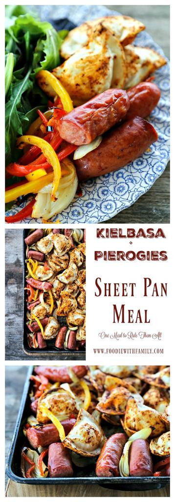 Kielbasa & Pierogies from Foodie with Family