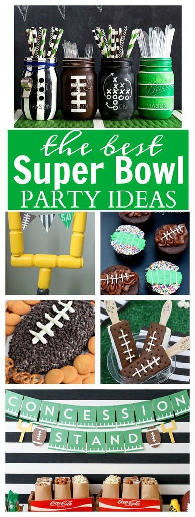 The Best Super Bowl Party Ideas including recipes, free printables and more!