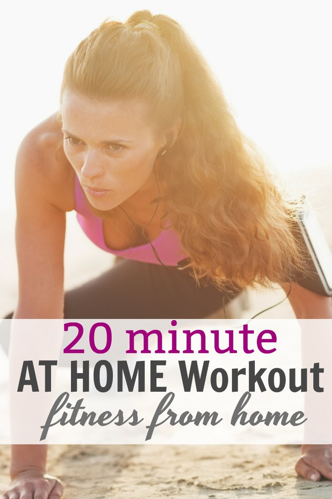 20 Minute AT Home Workout That WORKS
