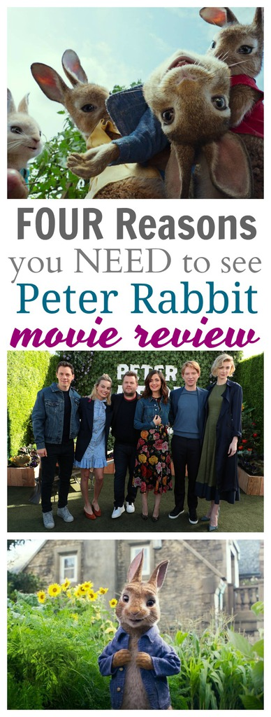 FOUR Reasons You NEED to See Peter Rabbit