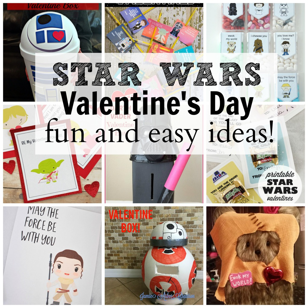 Crazy Fun STAR WARS Valentine Ideas