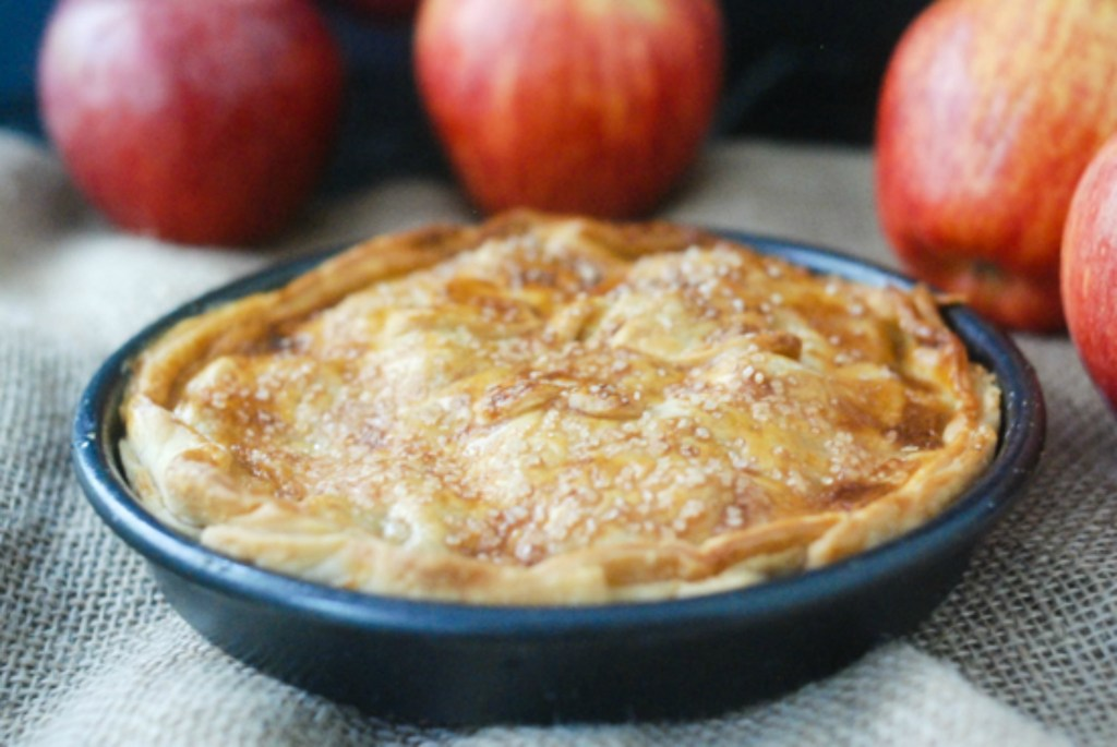 Air Fryer Apple Pie from It's All About the Yummy