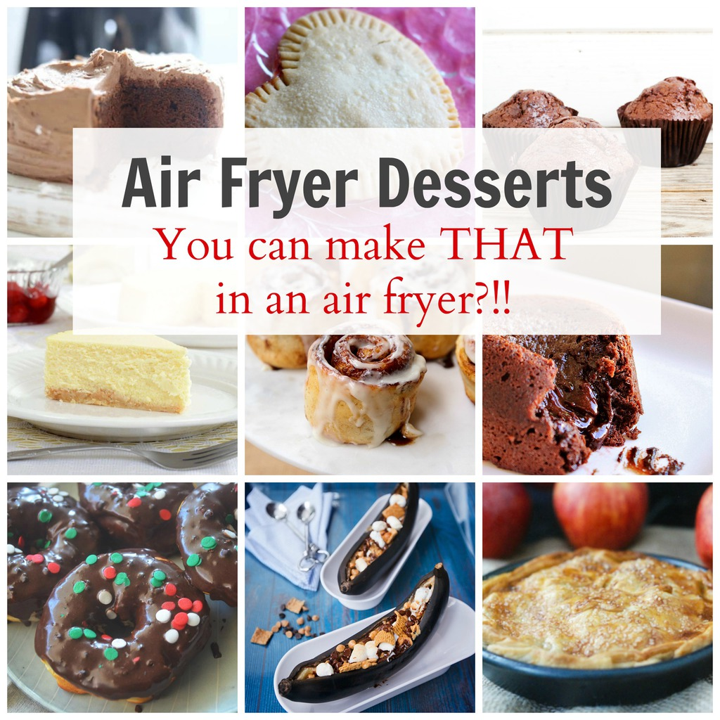 Easy Air Fryer Desserts ANYONE can Make
