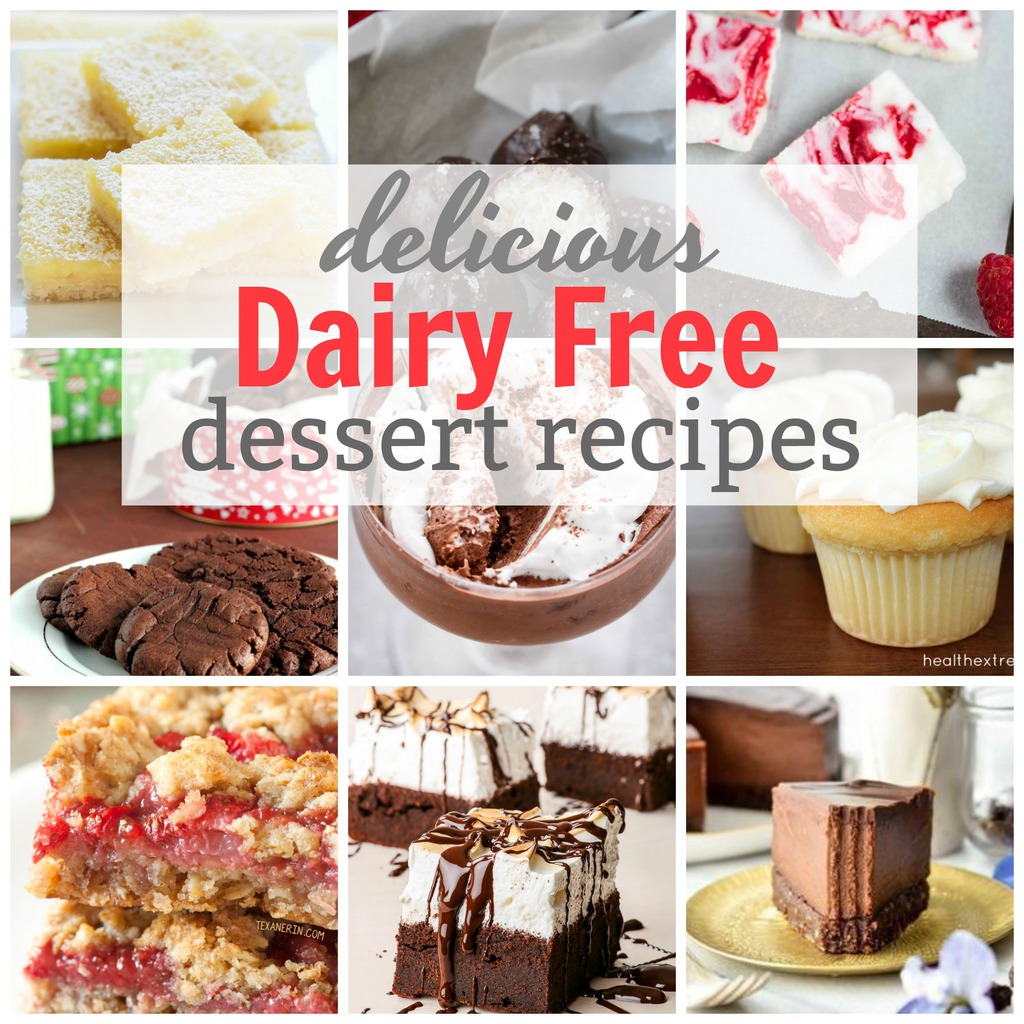 Delicious Dairy-Free Dessert Recipes