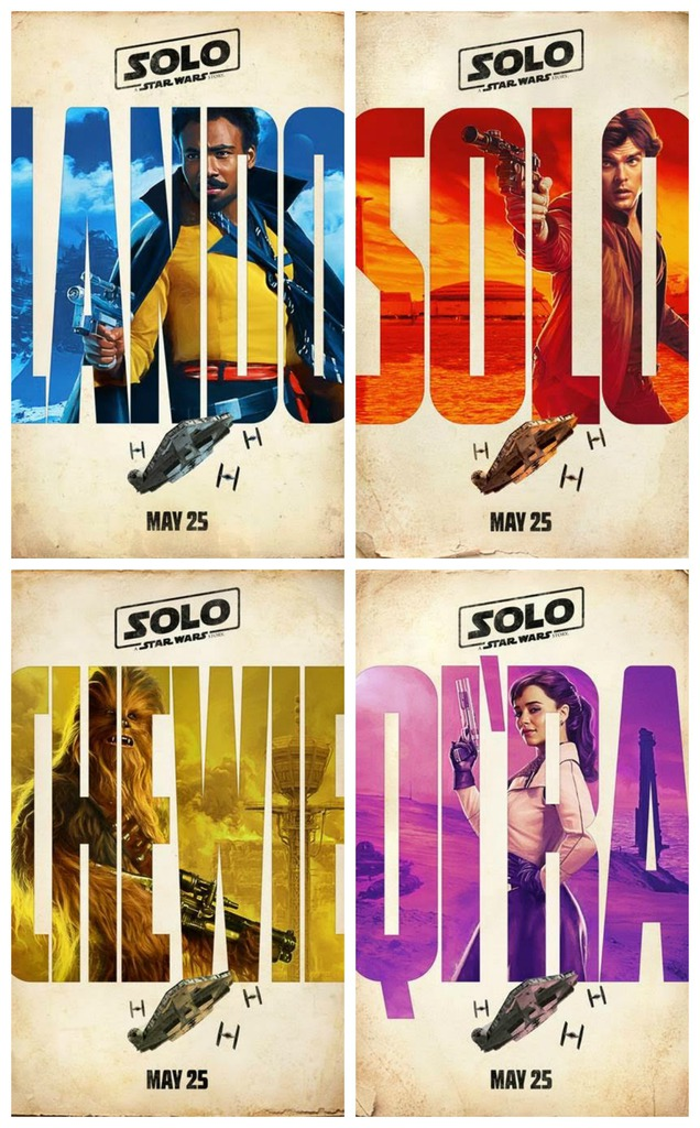 NEW SOLO: A STAR WARS STORY TRAILER AND POSTERS