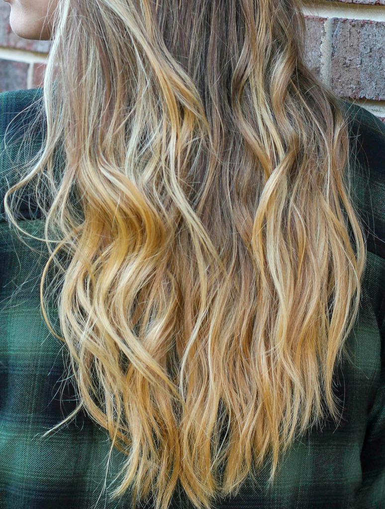 Long Hair with Coconut Oil Hair Treatment