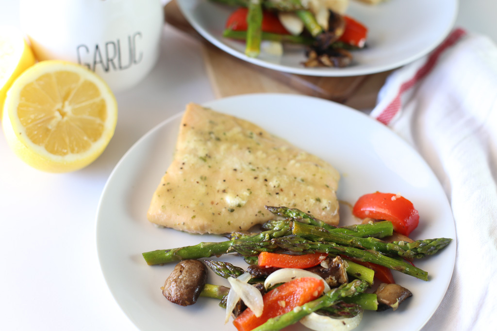 Delicious Sheet Pan Salmon Recipe