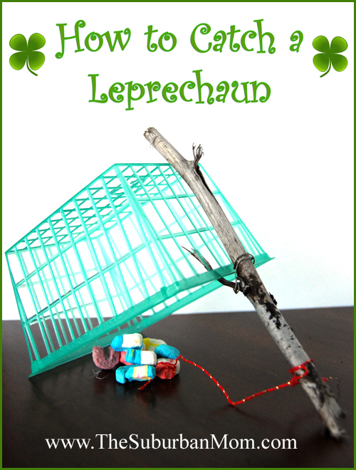 Easy Leprechaun Traps to make at home