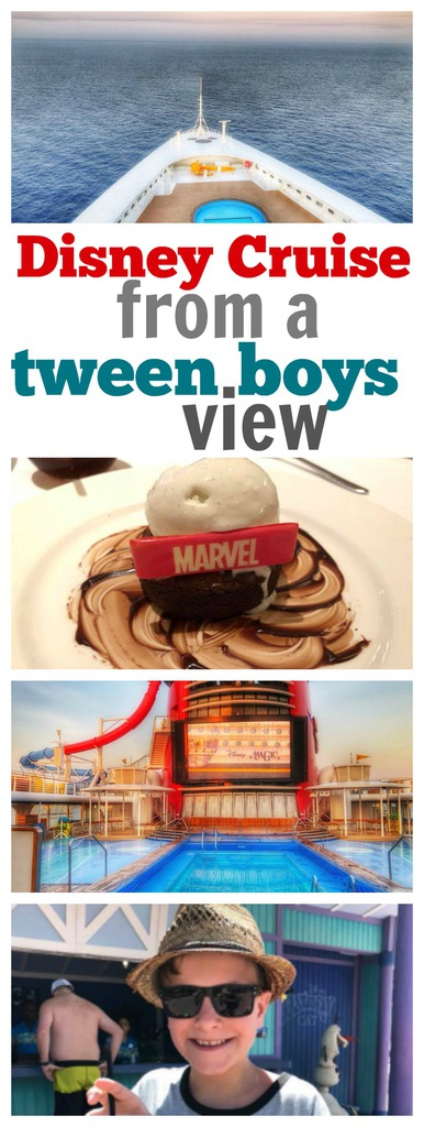 Disney Cruise from a Tween Boys View