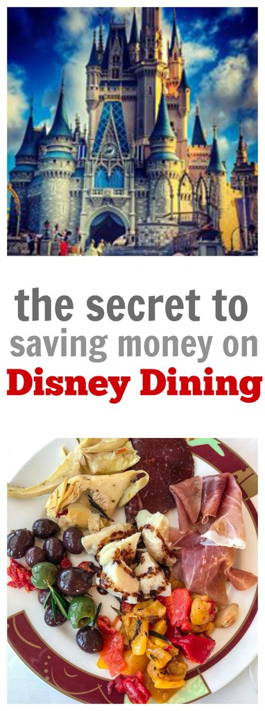 The Secret for Saving Money on Disney Dining