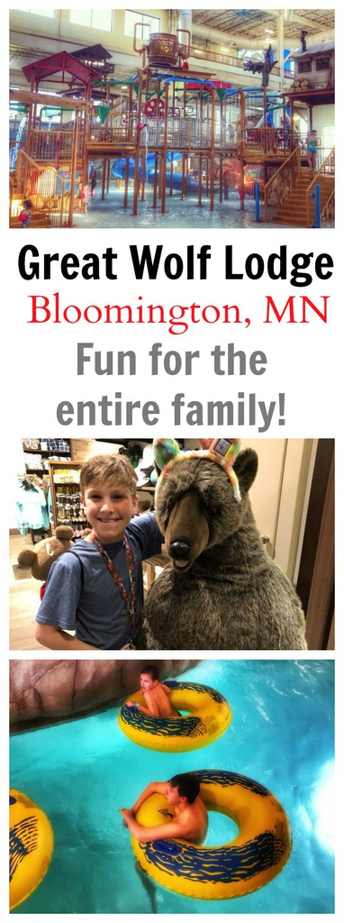 Great Wolf Lodge Minnesota Vacation