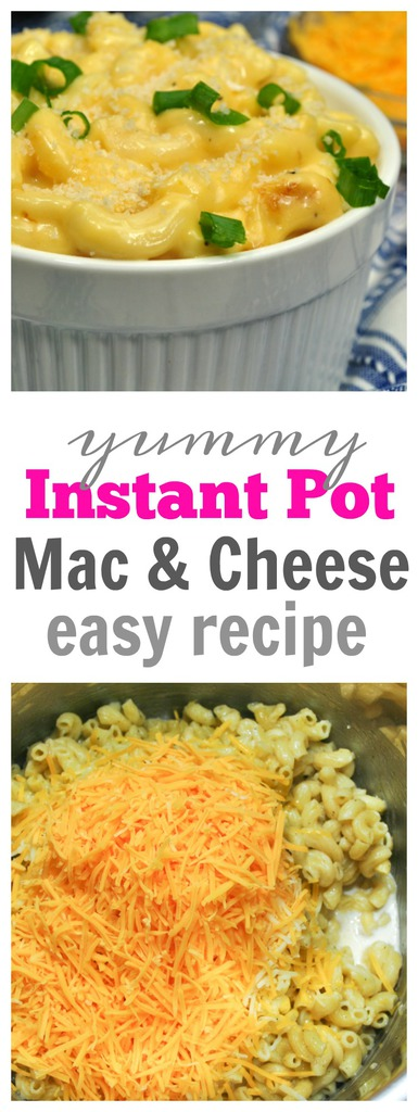 Simple Instant Pot Mac and Cheese