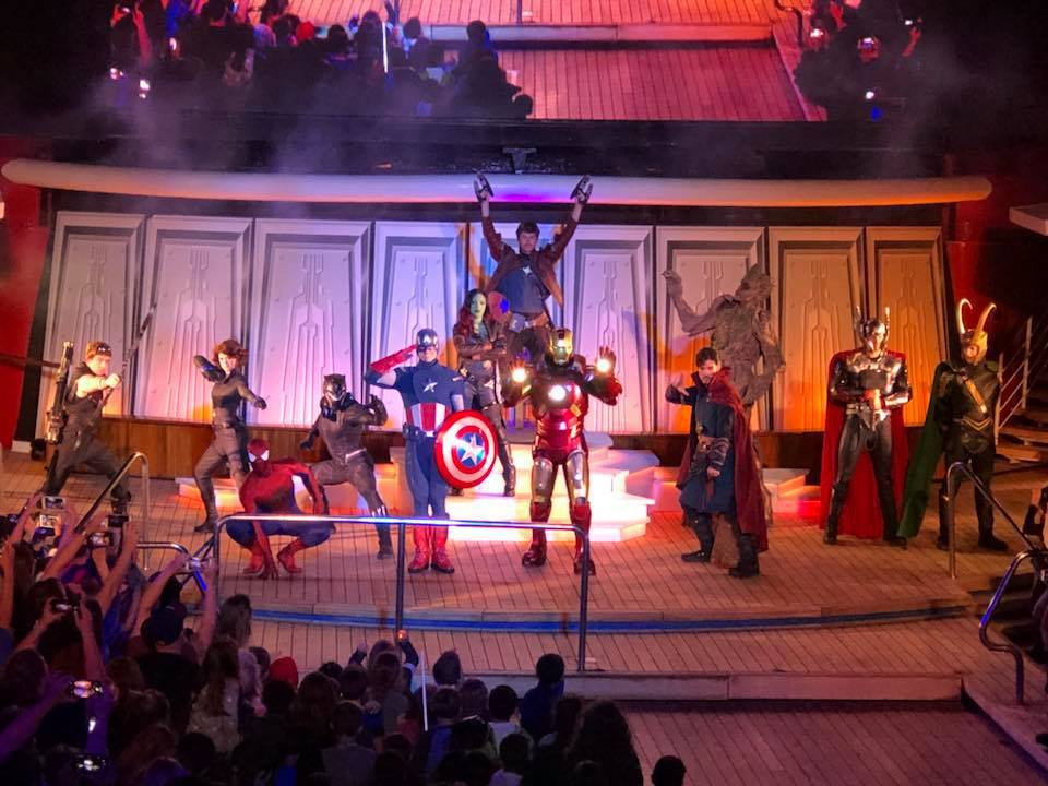 Marvel Day At Sea Stunt Show