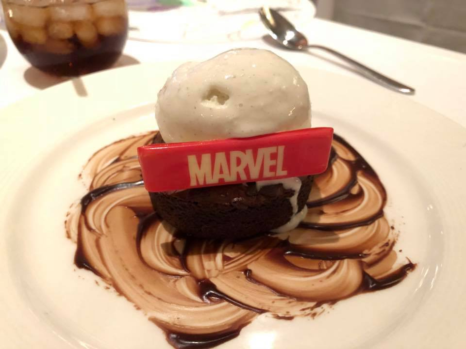 Marvel Day At Sea Dessert