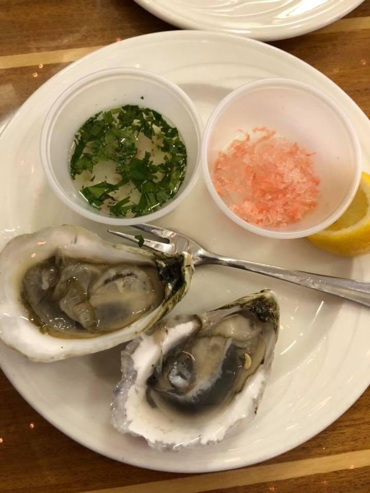 oysters in the outer banks