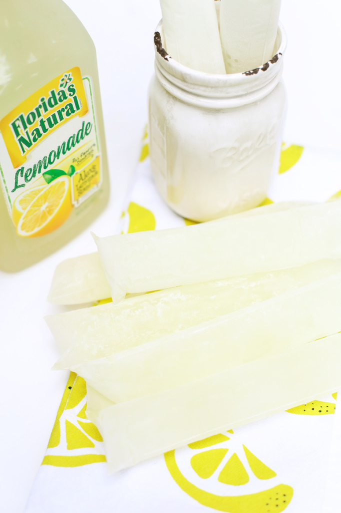 Vodka Lemonade Ice Pops
