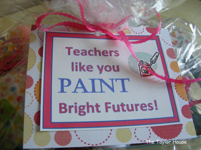 Teacher Appreciation Gift Idea: Pedicure Kit