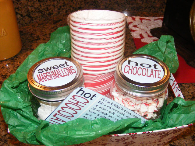 Post from the Past: Hot Chocoalte Gift Basket