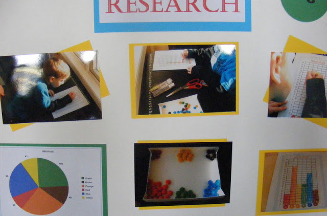 Easy M&M Math Science Fair Project