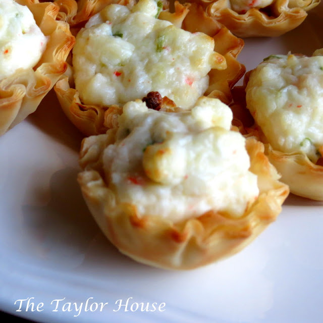 Party Appetizers with Crab Meat