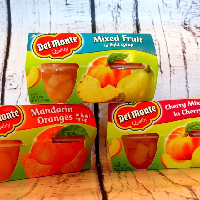 Del Monte Fruit Cups, Cheese cake, Mandarin Orange, Walmart