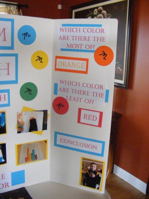 M M Math Science Fair Project