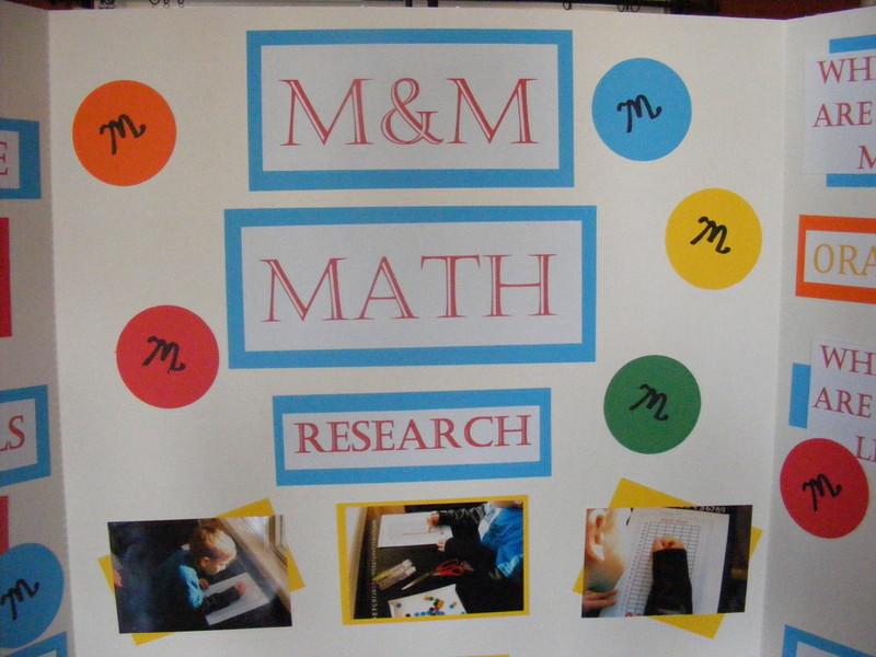 M&M Math Science Fair Project