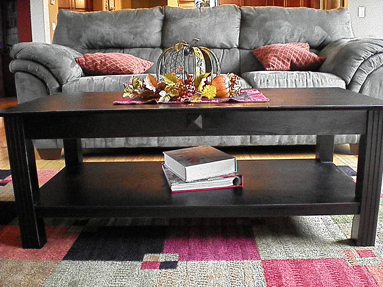 coffee table redo | the taylor house