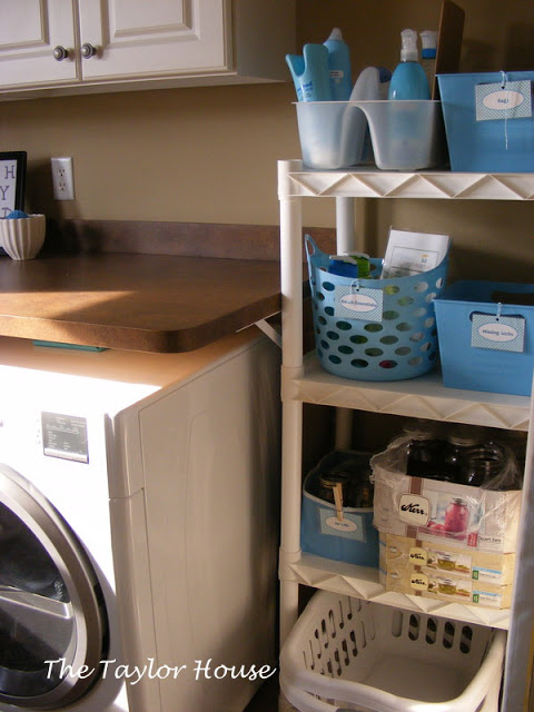 Redo of my Laundry Room Redo