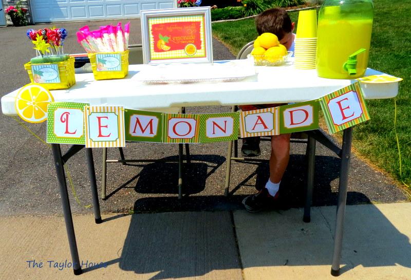 Lemonade Stand Lemonade Recipe | The Taylor House
