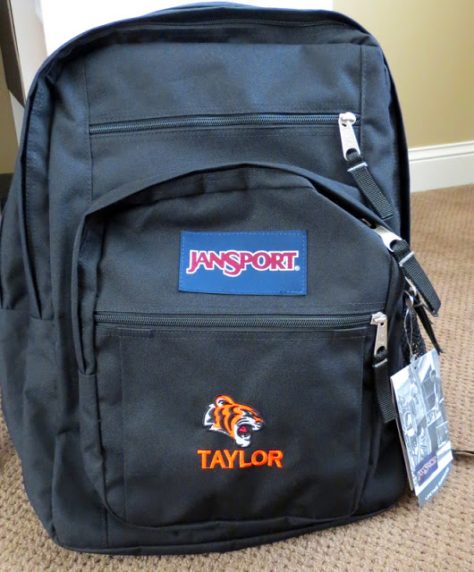 Personalized Backpack for Back to School