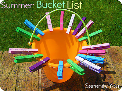 bucket3 Summer Bucket List from Serenity You