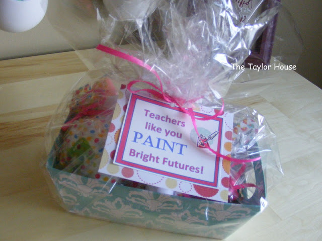 Pedicure kit {teacher appreciation gift}