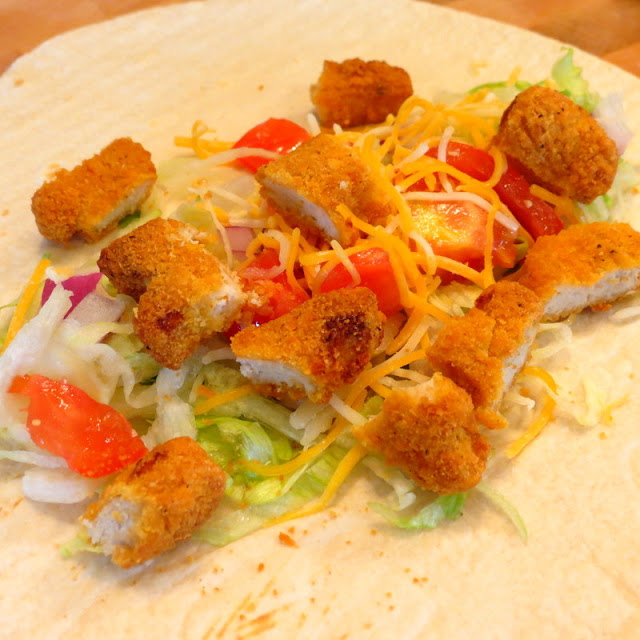 Crunchy Chicken Taco Recipe and Family Game Night
