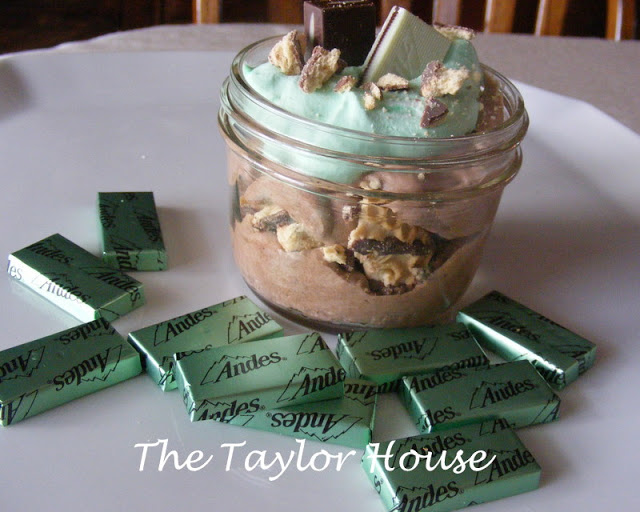 St. Pattys Mint Mousse