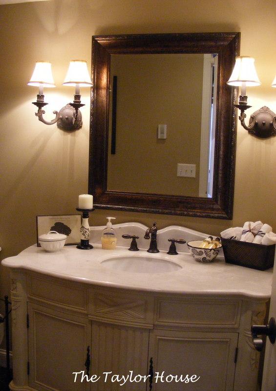 Guest Bathroom Decor The Taylor House
