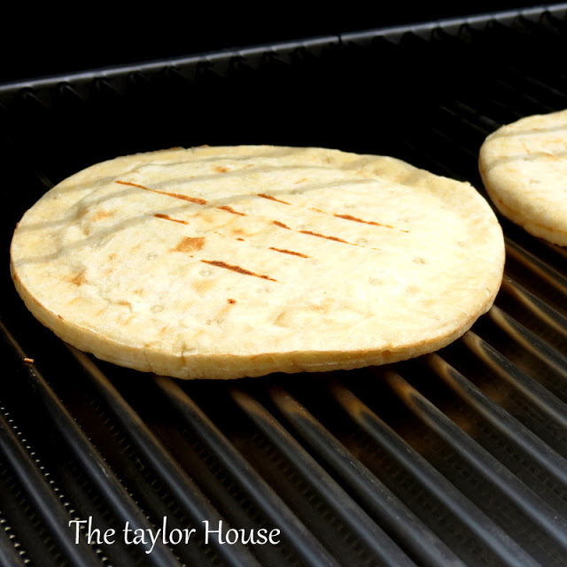 Grilled Pizza Crust